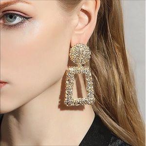 ⚜️HOTEST SELLING! 18CT Gold pl Hoop Earrings